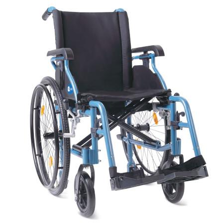 Carrozzella leggera in alluminio doppia crociera helios 1 for Sedia a rotelle doppia crociera