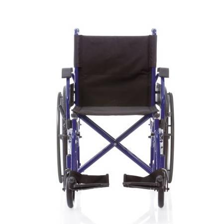 Sedia a rotelle pieghevole doppia crociera dual cp200 for Larghezza sedia a rotelle