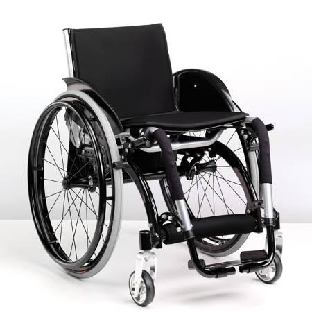 sedia a rotelle ultraleggera pieghevole