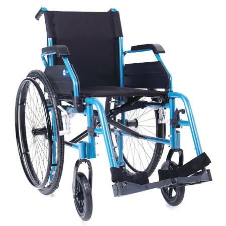 Sedia a rotelle pieghevole leggera in alluminio Helios CP740