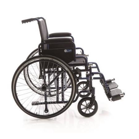 Carrozzina a rotelle pieghevole next mcp 110 for Sedia a rotelle doppia crociera