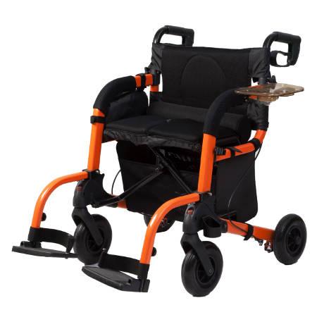 Deambulatore da esterno rollator trasformabile in for Sedia a rotelle per gatti