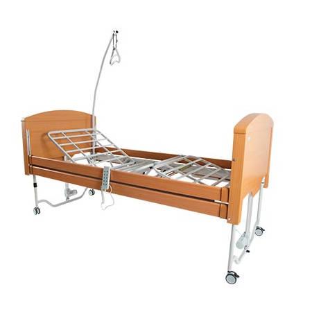 Letto ortopedico motorizzato allungabile gong 15000017 - Letto ortopedico con sponde ...