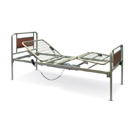 Letto ortopedico elettrico metallo a 2 movimenti arpa 15000097 - Prezzo letto per disabili ...